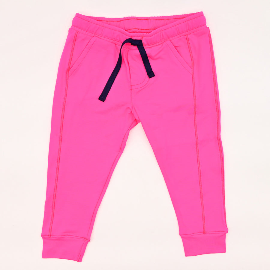 Happy Lil' One Baby Unisex The Jogger Pant in Hot Pink