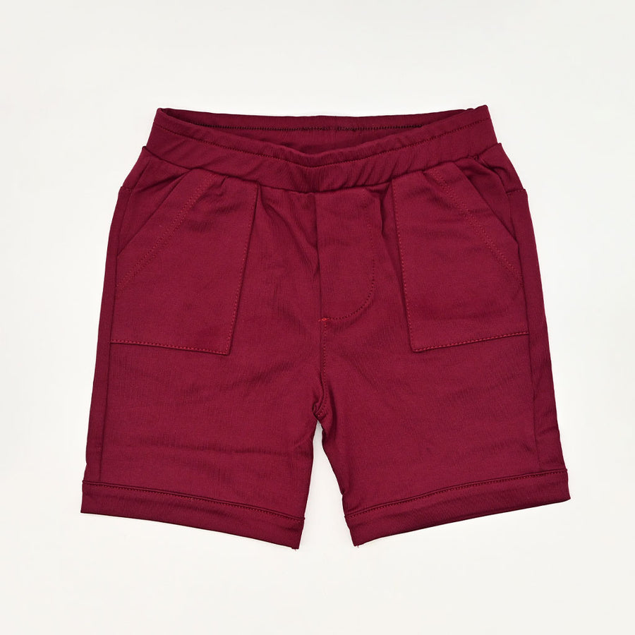 Happy Lil' One Toddler Boy The Everywhere Short in Mulberry