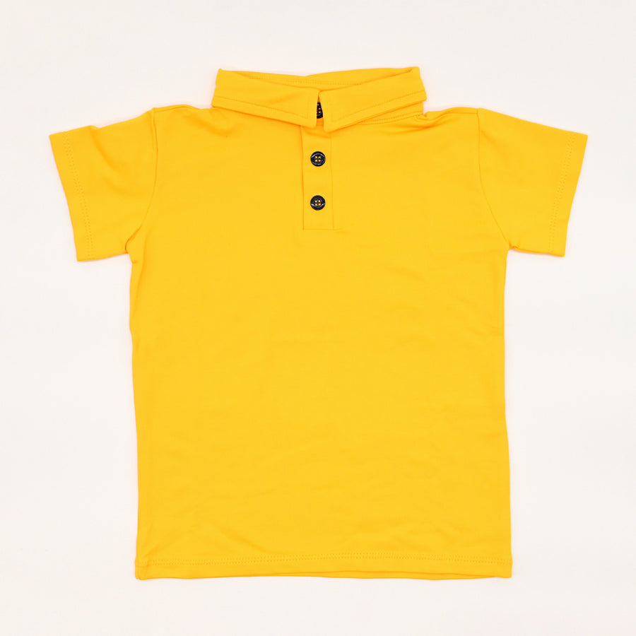 Happy Lil' One Toddler Boy The Polo Shirt in Golden