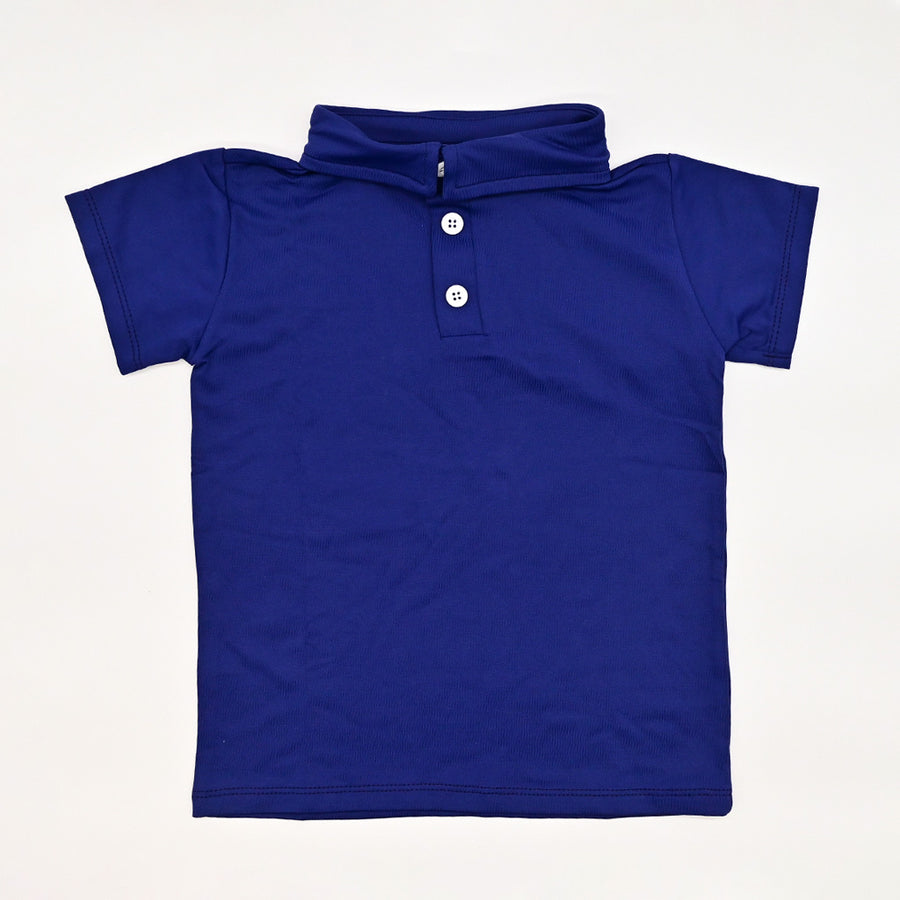Happy Lil' One Toddler Boy The Polo Shirt in Royal Navy