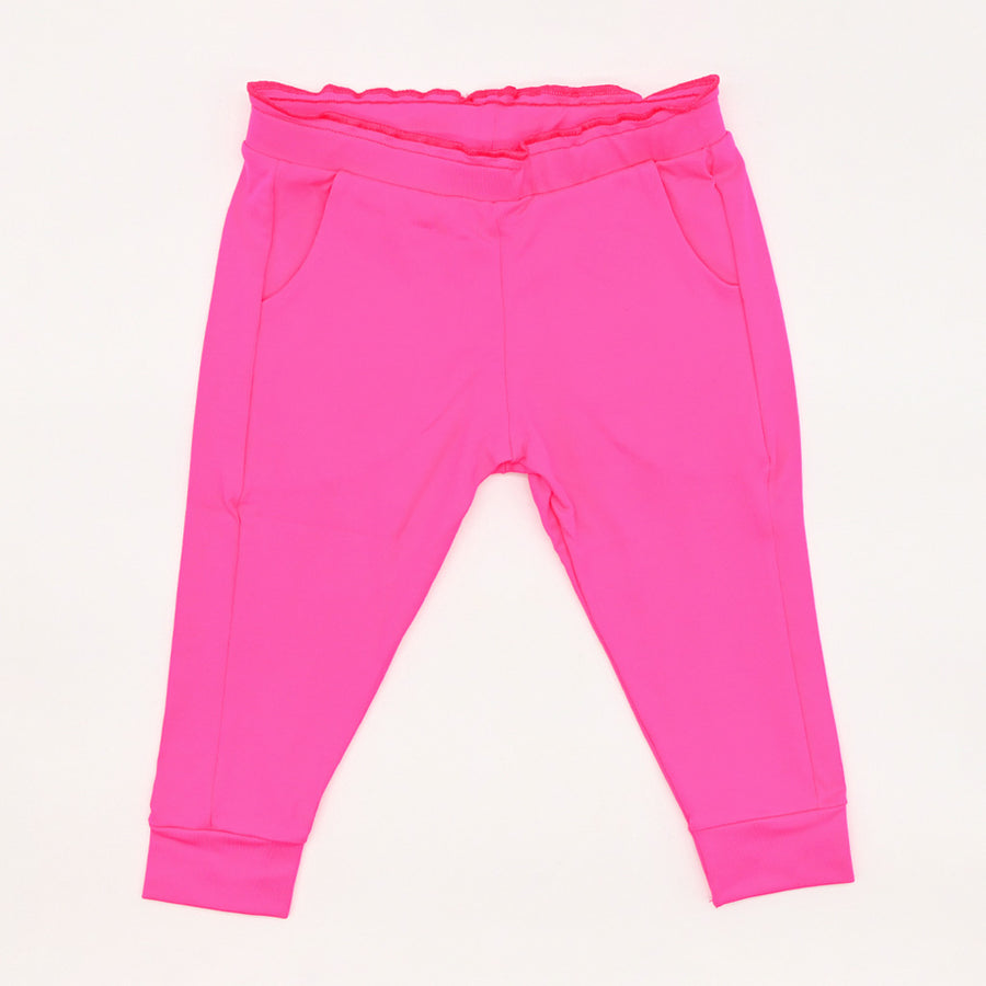 Happy Lil' One Toddler Girl Ruffle Pant in Fuchsia