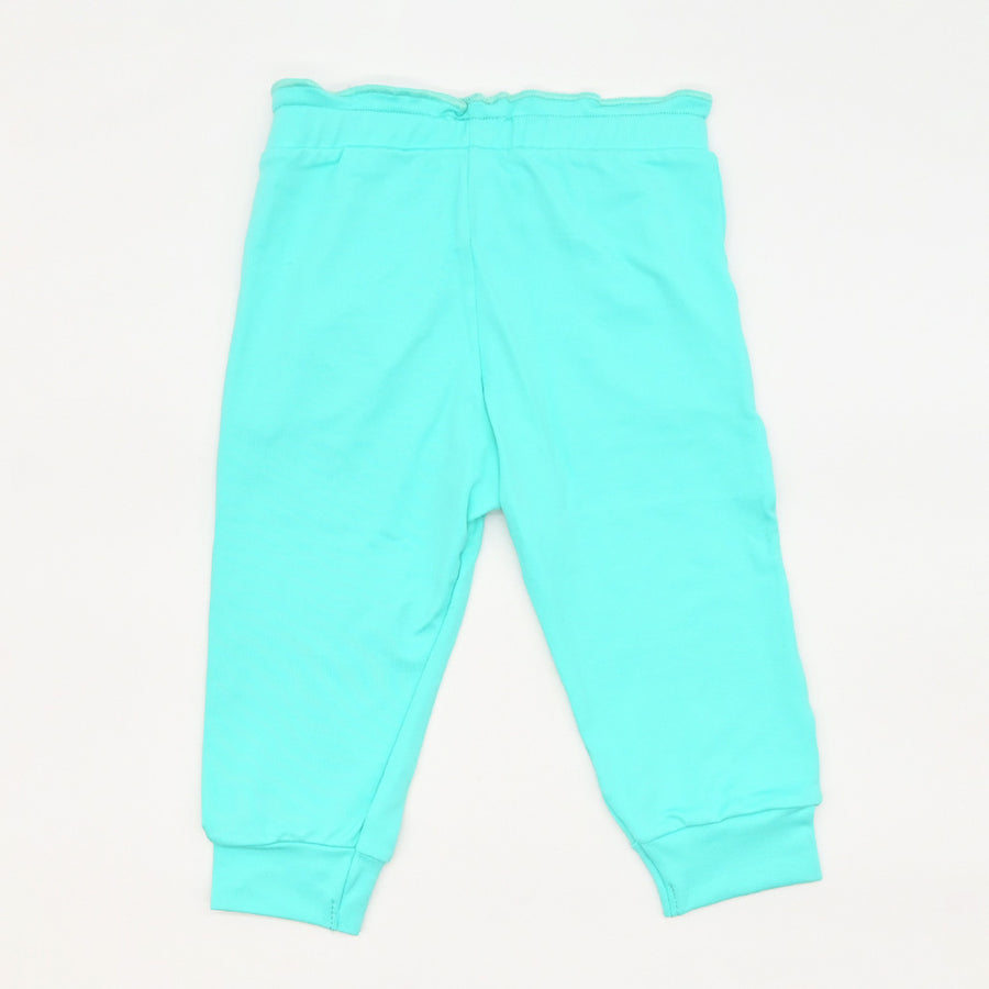 Happy Lil' One Toddler Girl Ruffle Pant in Robin's' Egg