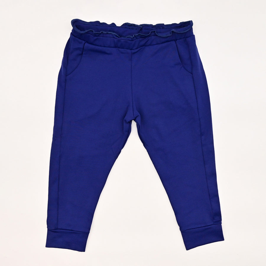 Happy Lil' One Toddler Girl Ruffle Pant in Navy Blue