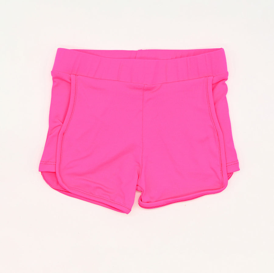 Happy Lil' One Toddler Girl Sporty Short in Hot Pink
