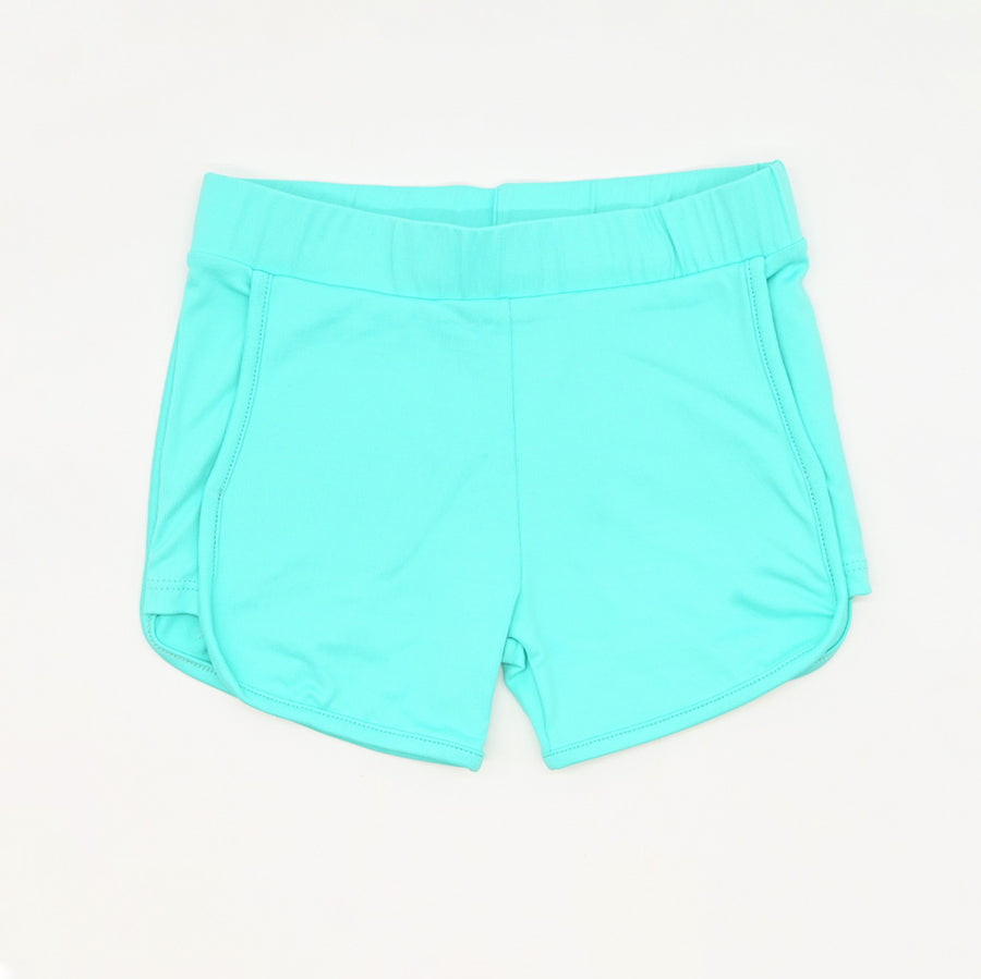 Happy Lil' One Toddler Girl Sporty Short in Robin's Egg