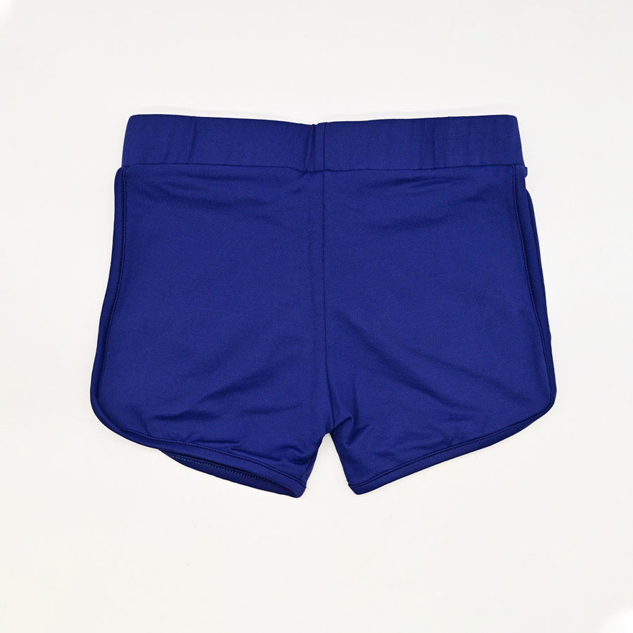 Happy Lil' One Toddler Girl Sporty Short in Royal Navy