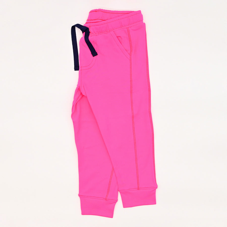Happy Lil' One Toddler Unisex The Jogger Pants in Hot Pink