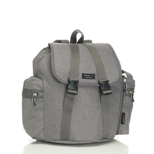 Storksak Travel Backpack Grey changing Bag | Backpack changing bag | Storksak - Award-winning Baby Changing Bags & Accessories