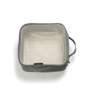 Storksak Travel Cabin Carry-on Grey hospital bag small packing block empty | Maternity hospital bag | Storksak - Award-winning Baby Changing Bags & Accessories