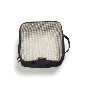 Storksak Travel Cabin Carry-on Black hospital bag small packing block empty | Maternity hospital bag | Storksak - Award-winning Baby Changing Bags & Accessories