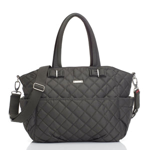 Bobby Charcoal Baby Changing Bag | Shoulder Bag Changing Bag | Storksak – Award-winning Baby Changing Bags & Accessories