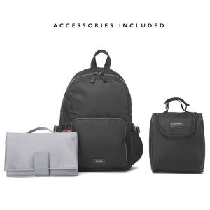 Hero backpack | storksak changing bags | changing mat | insulated bottle holder