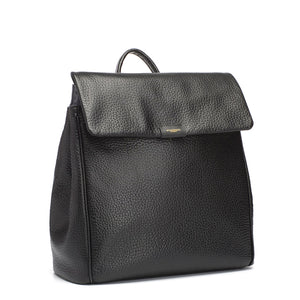 St james leather black |Storksak changing bag | luxury baby bag | convertible changing bag | backpack diaper bag
