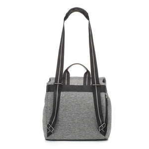 Storksak changing bag st james scuba shoulder bag view, grey changing bag, Convertible changing bag