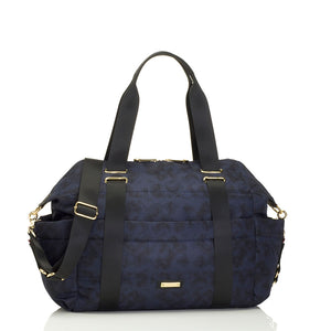 Sandy navy Baby Changing Bag | shoulder bag Changing Bag | Storksak – Award-winning Baby Changing Bags & Accessories