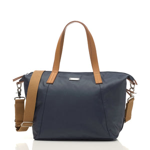 Noa navy Baby Changing Bag | shoulder bag Changing Bag | Storksak – Award-winning Baby Changing Bags & Accessories