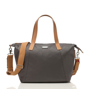 Noa grey Baby Changing Bag | shoulder bag Changing Bag | Storksak – Award-winning Baby Changing Bags & Accessories