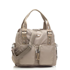 Alexa taupe Baby Changing Bag | shoulder bag Changing Bag | Storksak – Award-winning Baby Changing Bags & Accessories