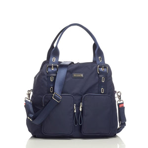 Alexa navy Baby Changing Bag | shoulder Changing Bag | Storksak – Award-winning Baby Changing Bags & Accessories