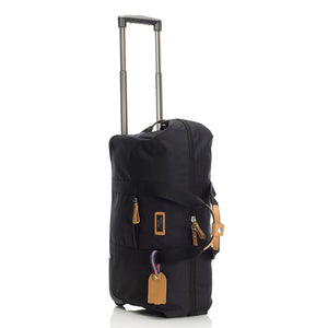 Storksak Travel Cabin Carry-on Black hospital bag upright | Maternity hospital bag | Storksak - Award-winning Baby Changing Bags & Accessories