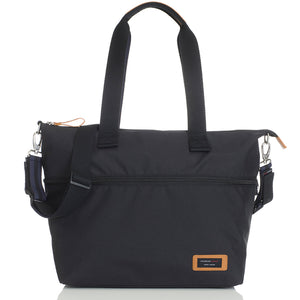 Storksak Travel Expandable tote Black hospital bag | Maternity hospital bag | Storksak - Award-winning Baby Changing Bags & Accessories