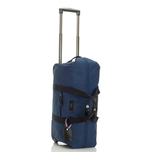 Storksak Travel Cabin Carry-on Navy hospital bag upright | Maternity hospital bag | Storksak - Award-winning Baby Changing Bags & Accessories