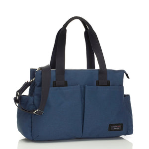 Storksak Travel Shoulder bag Navy changing Bag | Shoulder bag | Storksak - Award-winning Baby Changing Bags & Accessories