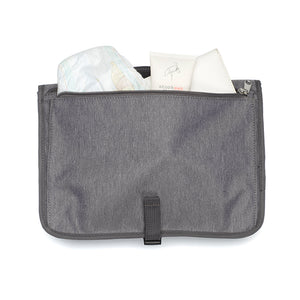 Travel Change Station Grey Baby accessories| nappy pocket| Storksak – Award-winning Baby Changing Bags & Accessories