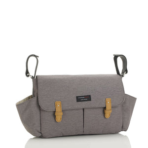 Storksak Travel Stroller Organiser Grey baby accessories | Travel baby accessories | Storksak - Award-winning Baby Changing Bags & Accessories