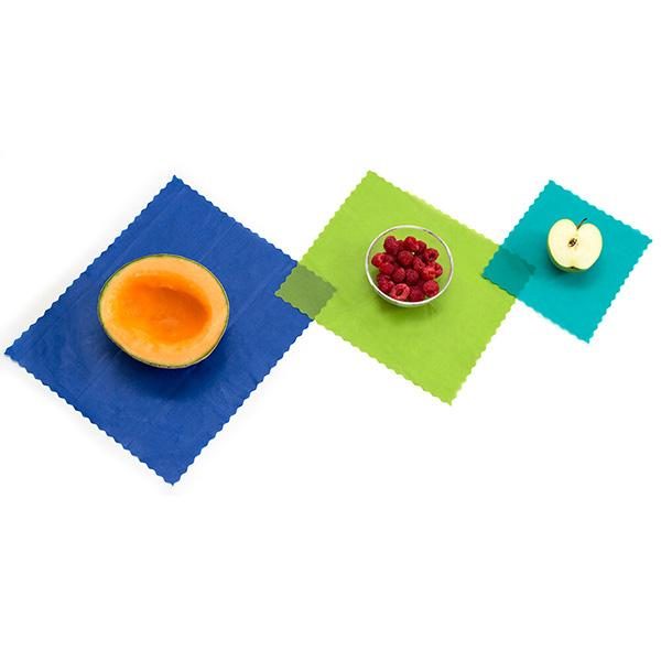 ETEE reusable food wraps - set of 3
