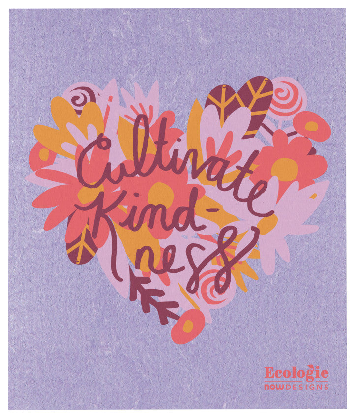 Cultivate Kindness swedish dish cloth