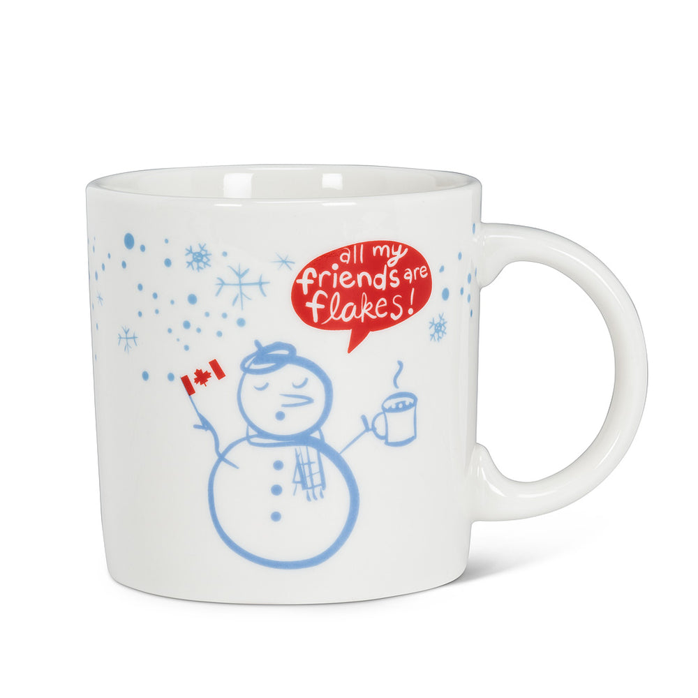 All my Friends are Flakes Mug
