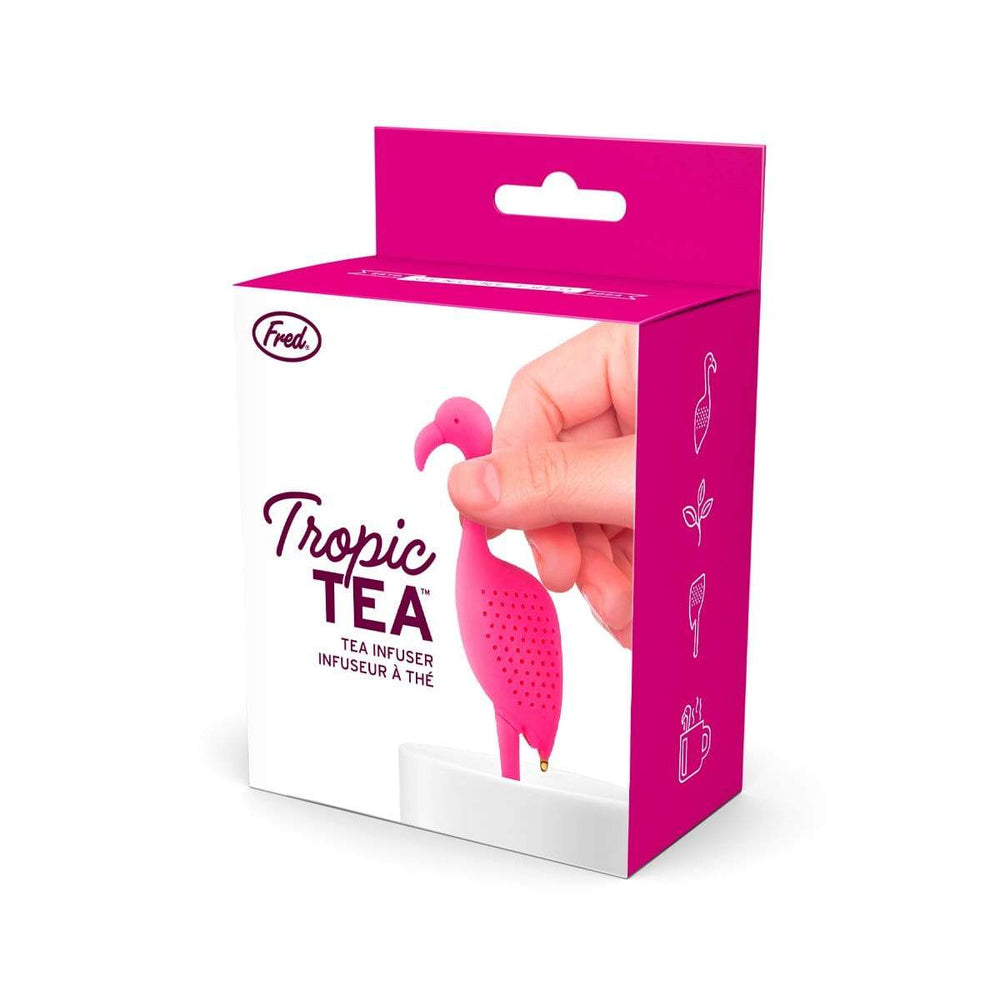 tropic tea flamingo tea infuser