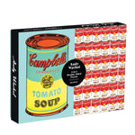 Andy Warhol Campbell's Soup Can 500 piece double sided puzzle