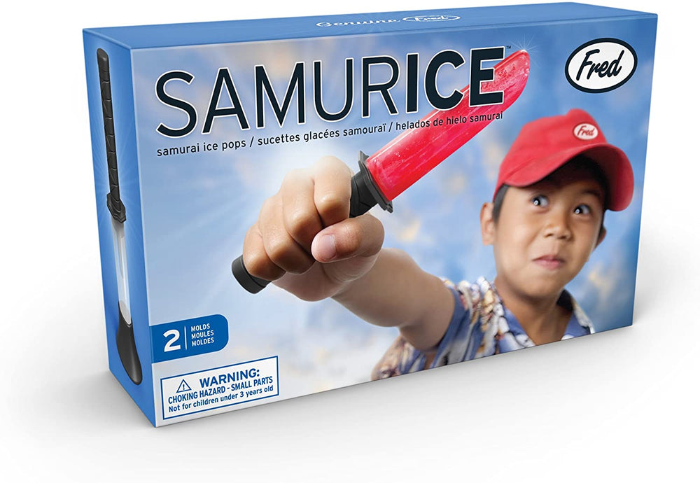 samurai sword ice pop molds