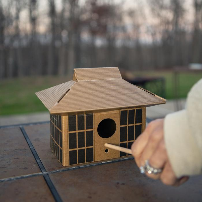 DIY bird house - Japanese Tea House