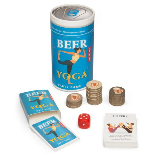 beer yoga game