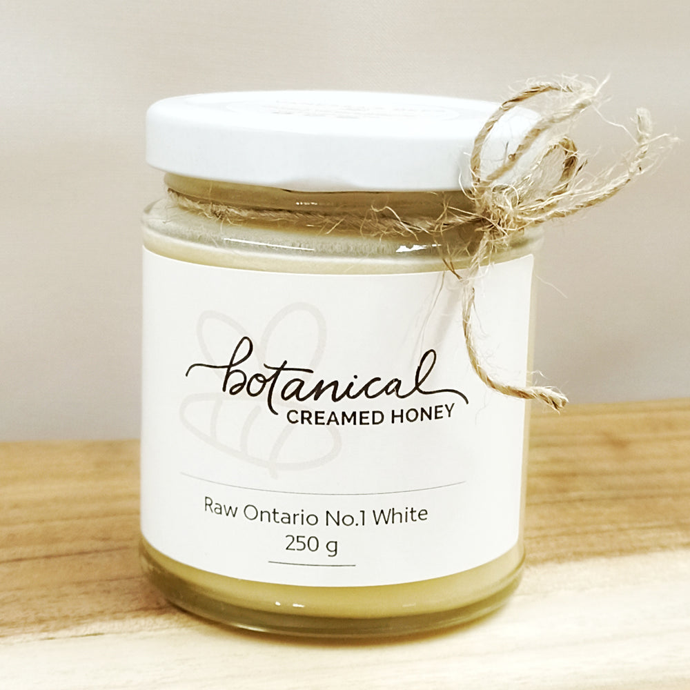 Botanical creamed honey from Vanessas Bees