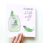 Dill-ightful Birthday - say it with socks