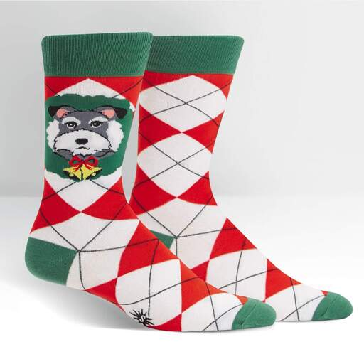 youth deck the paws socks