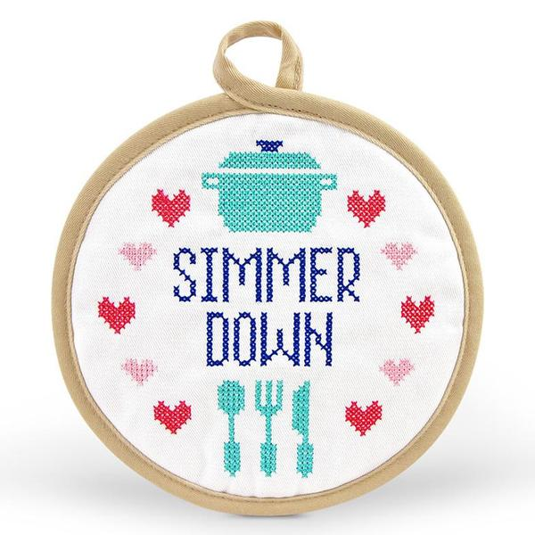 Simmer Down pot holder