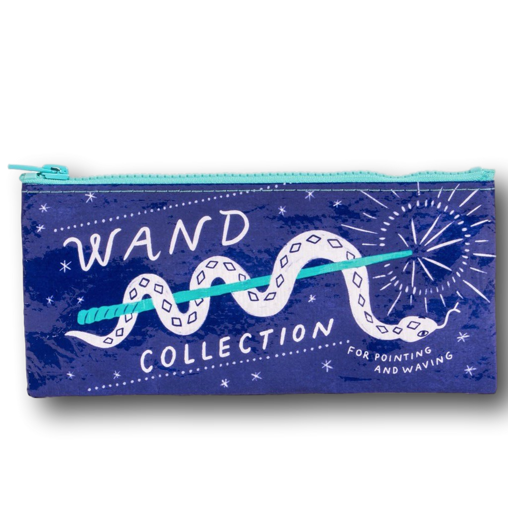wand collection zipper pouch