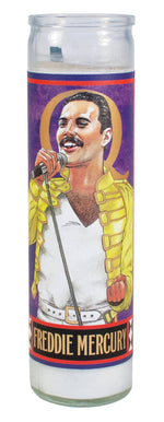 Freddie Mercury Saint Candle
