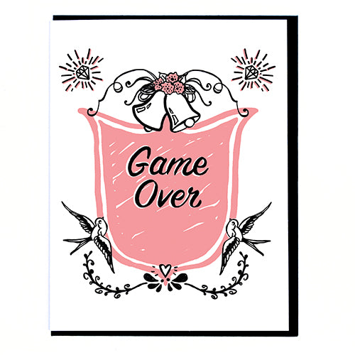 Game Over Card by Smitten Kitten