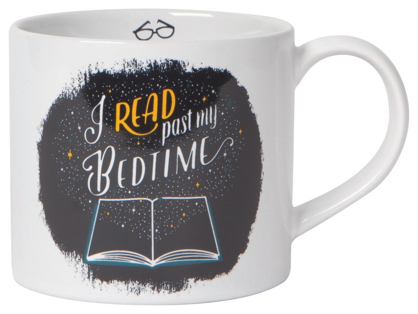 I read past my bedtime mug in gift box