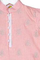 Booti Zari Embroidered Pathani Kurta with Pyjama
