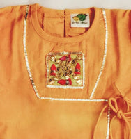 Jamna Set with Kurta/Dhoti/Shoes/Wrapper/Handkerchiefs