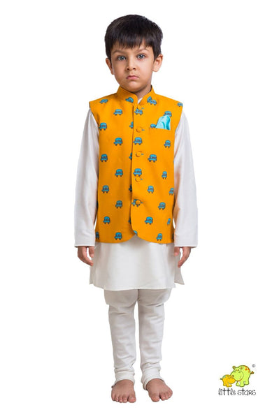 Vans Printed Nehru Jacket (Jacket only)