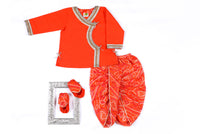 Jamna Set with Kurta Dhoti & Shoes