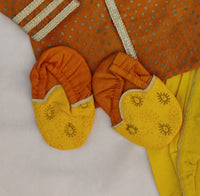 Jamna Set with Kurta/Dhoti/Shoes